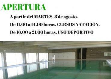 El Ayuntamiento de Moraleja celebrará el próximo lunes la jornada de puertas abiertas de la piscina cubierta