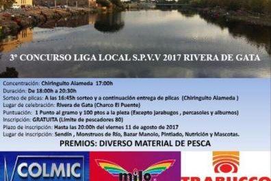 La Rivera de Gata de Moraleja acogerá este sábado el III Concurso Infantil de Pesca