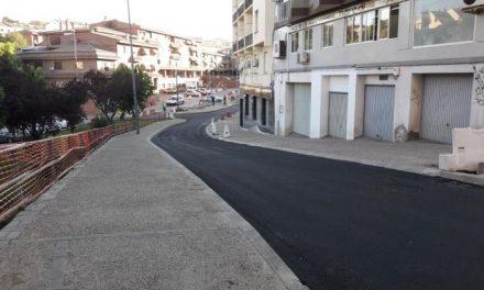 La calle Sor Valentina Mirón de Plasencia recupera el tráfico rodado tras dos meses cortado