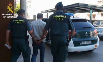 Prisión provisional para un hombre por provocar varios incendios forestales en Montehermoso