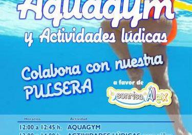 Plasencia acogerá una maratón de aquagym y actividades lúdicas a favor de la Sonrisa de Álex