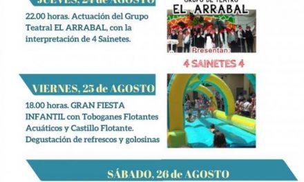 """El grupo de teatro """"El Arrabal"""" inaugurará este jueves las fiestas de la Zona Centro de Moraleja"""