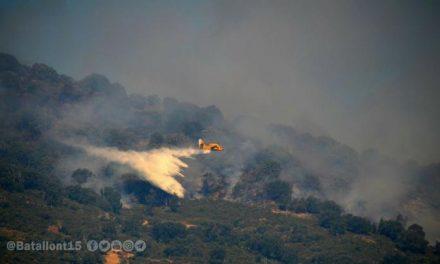 El INFOEX considera que el incendio de Cabezabellosa, que continúa activo, es intencionado