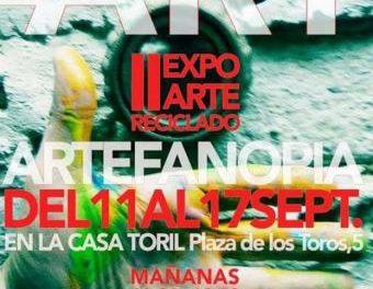 """La exposición """"RECICL ART"""" estará del 11 al 17 de septiembre en la Casa Toril en Moraleja"""
