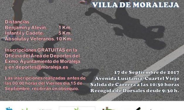 Moraleja abre las inscripciones para el IX Cross y el II 10km que tendrán lugar el 17 de septiembre