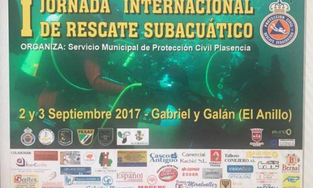 Plasencia acogerá este fin de semana las I Jornadas de Rescate Subacuático de Protección Civil