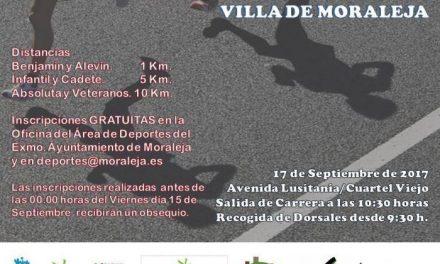 Continúan abiertas las inscripciones para participar este domingo en el IX Cross y el III 10 KM de Moraleja
