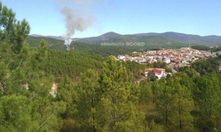 El incendio registrado en la mañana de este miércoles en Pinofranqueado ya está controlado