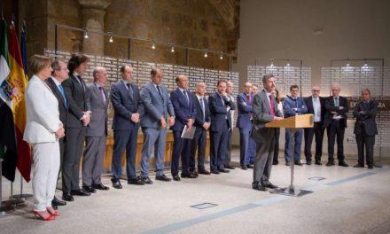 La Junta firma un convenio con entidades financieras para impulsar y mejorar la financiación empresarial