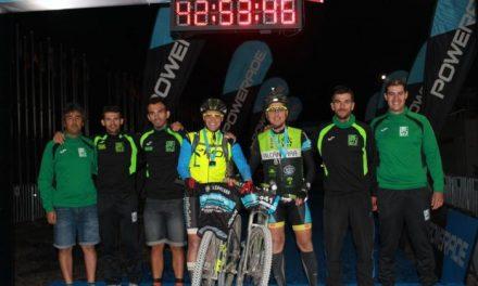 El equipo BTT de Alcántara logra la tercera posición en la categoría embajador de la carrera Madrid-Lisboa