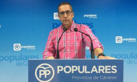 El PP de la provincia de Cáceres exige a la Junta que suprima el Impuesto de Sucesiones en la región