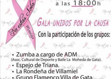 """La Moheda de Gata será el escenario de la gala """"Unidos por la causa"""" del Mes Rosa de Moraleja"""