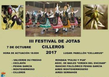 El folklore extremeño será el protagonista este sábado en Cilleros con el III Festival de Jotas