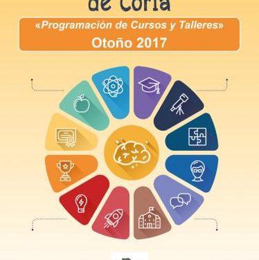 La Universidad Popular de Coria oferta más de una decena de talleres para el nuevo curso