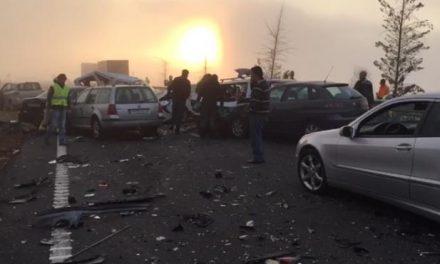 El accidente registrado cerca de Galisteo, con más de 40 vehículos implicados, se salda con un fallecido y doce heridos