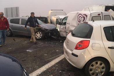 El número de heridos en el accidente de Galisteo asciende a 15, de los que uno está en estado crítico