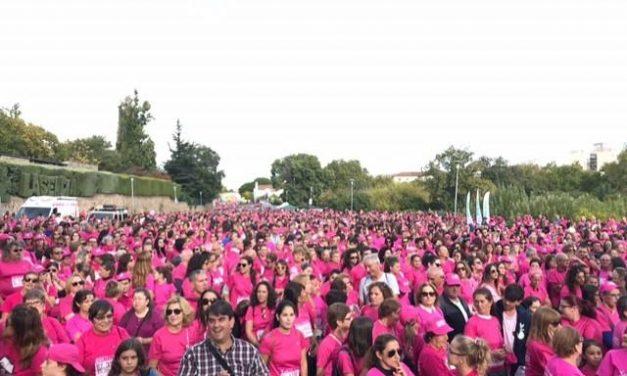 La V Marcha Rosa de Plasencia vende unos 7.500 dorsales y recauda más de 22.000 euros