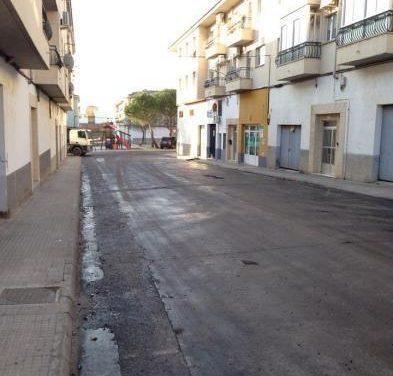 Comienzan las obras de asfaltado en diferentes calles de Coria con cerca de 300.000 euros de presupuesto