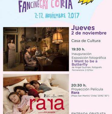 La ciudad de Coria acogerá varias actividades en el marco de la XX edición del FanCineGay