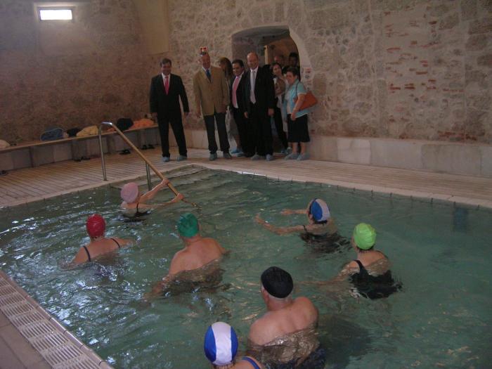 Los mayores dispondrán en el 2008 de 250.000 plazas en los balnearios dentro del programa Termalismo Social