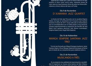 """Coria acoge hasta el próximo 23 de noviembre el VI Festival Internacional de Jazz """"Jazz&Grulla"""""""