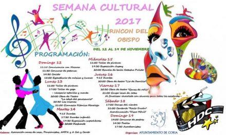 Rincón del Obispo celebrará del 12 al 19  su semana cultural con talleres, teatro, exposiciones y música