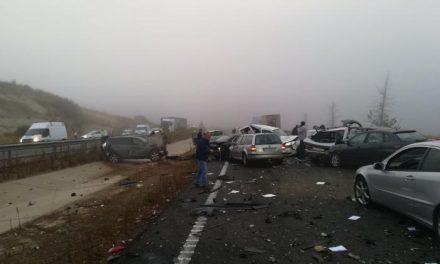 Uno de los heridos del accidente de Galisteo continúa recuperándose favorablemente