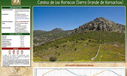 """Coria organiza la ruta """"Camino de los Moriscos-Sierra grande de Hornachos"""" el próximo día 26"""