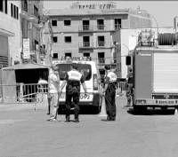 Se incendia un almacén de herramientas en Villanueva de la Serena sin provocar daños personales