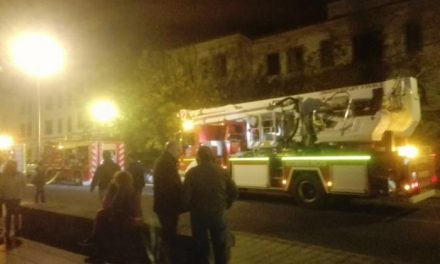 El edifcio de los antiguos pabellones militares de Plasencia registra un nuevo incendio