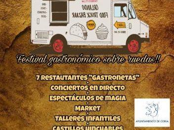 La ciudad de Coria se prepara ya para acoger el I Festival Gastronómico Sobre Ruedas o FoodTruck Festival