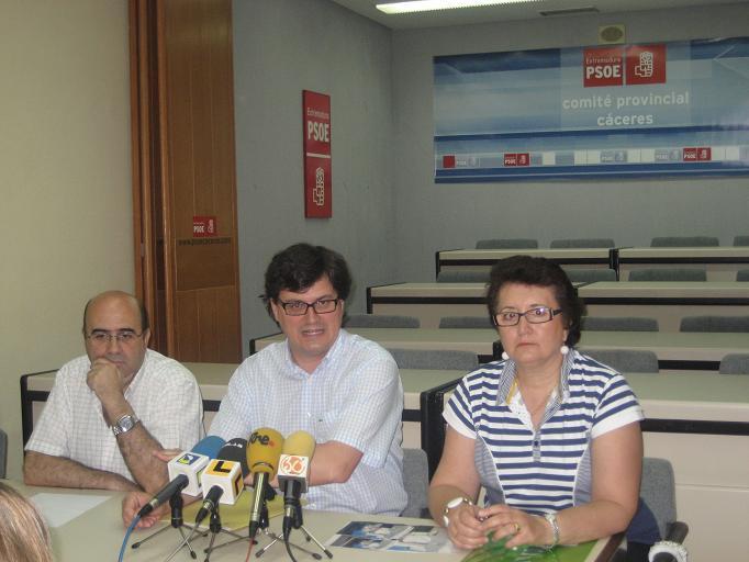 El PSOE afirma que en Valencia de Alcántara se vive una situación de «desgobierno total»