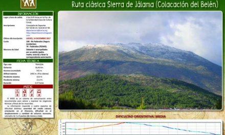 El departamento de Deportes de Coria celebrará este domingo la tradicional subida del Belén al Pico Jálama