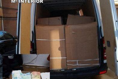 La Guardia Civil aprehende más de 4.700 kilos de tabaco en rama en los últimos meses en Extremadura