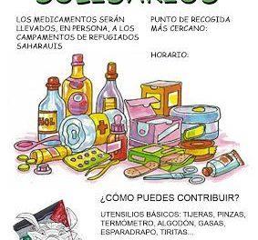 Cáritas Torrejoncillo recoge medicamentos y utensilios médicos para los campos de refugiados del Sáhara