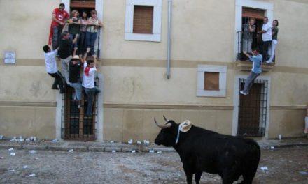 Un joven de 24 años de Valladolid sufre una cornada en la lidia del toro Zagal durante la madrugada
