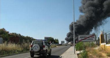 El 112 confirma que ha quedado extinguido el incendio que arrasó la mayor aceitera de Extremadura