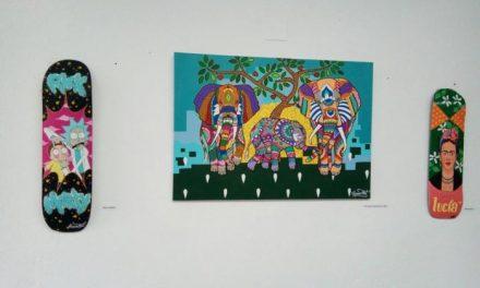 La Casa Toril de Moraleja alberga una exposición de obras de diferentes artistas locales