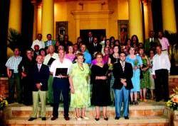 El Ayuntamiento de Don Benito homenajea a un total de 15 trabajadores y empresarios ya jubilados