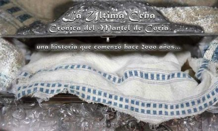 El Mantel de la Última Cena será el protagonista de la presentación de Coria en FITUR