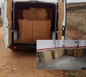 Incautan en los últimos meses más de 4.700 kilos de tabaco ilegal en el norte de la provincia de Cáceres