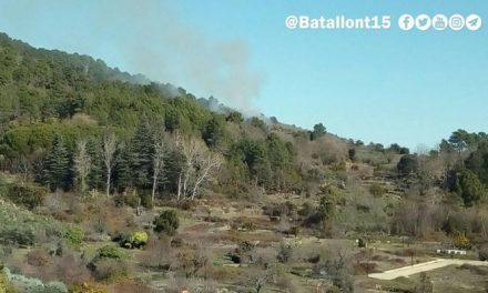 Torre de Don Miguel registra en la mañana de este martes un incendio forestal que ya está extinguido