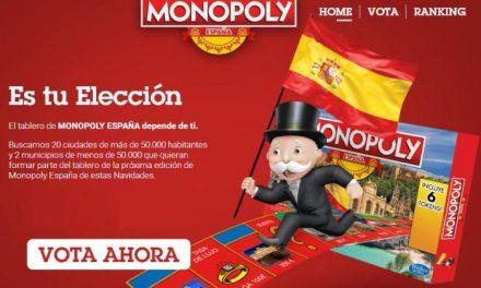 """Moraleja anima a sus vecinos a seguir votando para que la localidad aparezca en el tablero de """"Monopoly"""""""