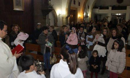 Los niños nacidos el pasado año en Moraleja serán bendecidos por la Virgen con motivo de Las Candelas