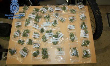 La Policía Nacional detiene a seis personas por tráfico de sustancias estupefacientes en Plasencia