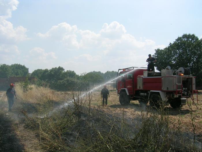 Extremadura registró 51 incendios forestales en junio, primer mes de la campaña de alto riesgo de fuegos