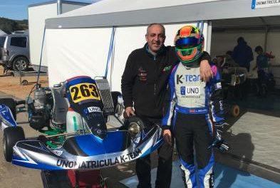 El piloto moralejano Luis Belloso participará en marzo en el Campeonato de España de Karting en Valencia