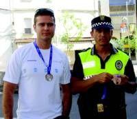La expedición villanovense de policías locales regresa de los Juegos Europeos con medallas de plata y de bronce