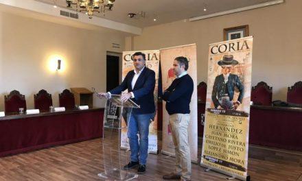 Las figuras del toreo Cayetano Rivera, Juan Mora y Emilio de Justo estarán en la Feria del Toro de Coria