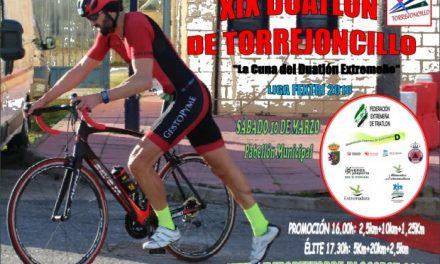 Torrejoncillo celebrará el 10 de marzo el XIX Duatlón, la prueba de triatlón más antigua de la región